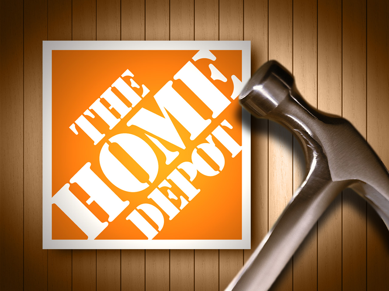 Grand Opening Of St Croix Home Depot St Croix Virgin Islands - The home depot logo