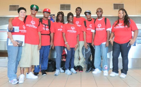 Daily News Photo by CRISTIAN SIMESCU The St. Croix contingent of the 2011 U.S. Virgin Islands Special Olympics team.