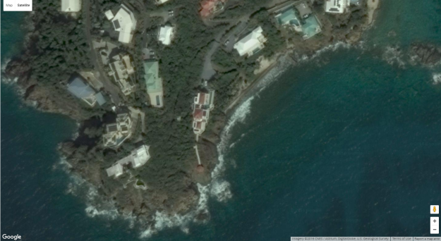 Duncan is rumored to own this red-roofed mansion on St. Thomas, a neighboring U.S. Virgin Isle to his native St. Croix.