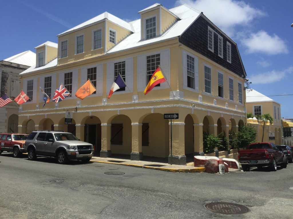 Historic Building In Christiansted St Croix Virgin