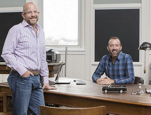 Pictured are the developers of The Fred: Christopher Swanson (left) and Jeff Printz (right).