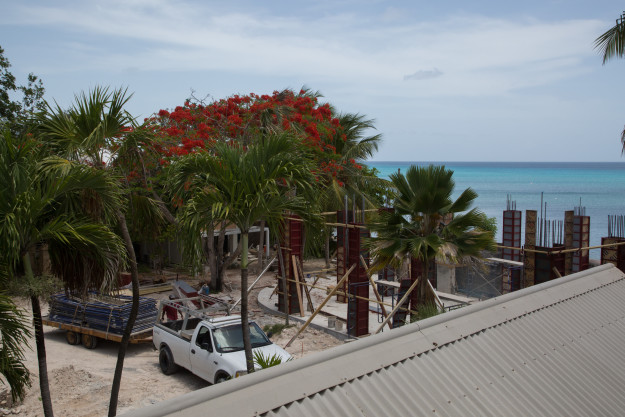 """The Fred"" boutique hotel is currently under construction in Frederiksted."