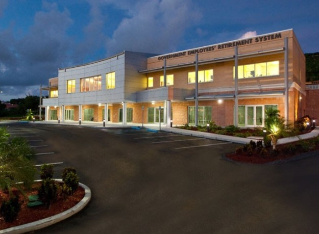 The Government Employees' Retirement System (GERS) Executive Office Building on St. Croix was completed by J. Benton Construction.